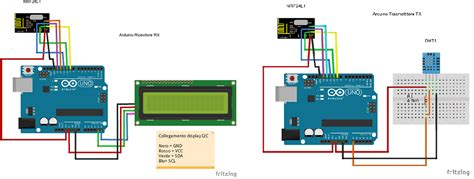 fritzing project arduino meteo dht11 nrf24l01