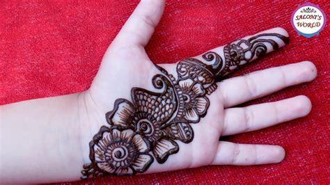 easy simple arabic henna easy mehndi design
