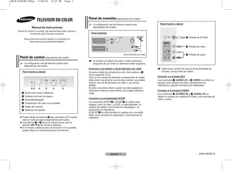Samsung CW 29Z504N Manual de Usuario Manualzz