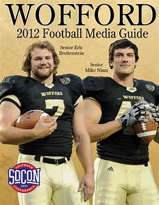 2012 Wofford Football Media Guide by Wofford Athletics - issuu