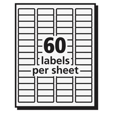 Avery Label 5195 Template by Avery 5195 Easy Peel Mailing Laser Labels Permanent