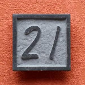 Numéro Maison Design : num ro de maison en pierre votre num ro de rue ~ Premium-room.com Idées de Décoration