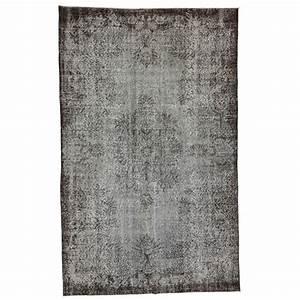 Vintage Teppich Grau : grau vintage umgef rbt teppich 170x273cm ~ Indierocktalk.com Haus und Dekorationen