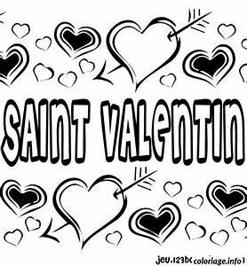 Dessin Saint Valentin : coloriage dessin saint valentin 13 dessin ~ Melissatoandfro.com Idées de Décoration