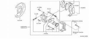 Nissan 240sx Disc Brake Caliper Guide Pin Bolt  Disc Brake