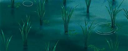Rain Anime Ghibli Gifs Loop Totoro Aesthetic