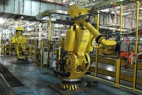 une usine de  robots aux encheres