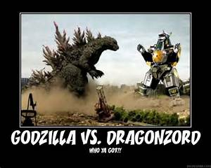 Godzilla vs Power Rangers