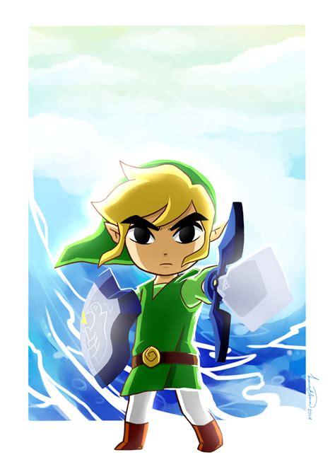 The Legend Of Zelda The Wind Waker Toon Link Awakening