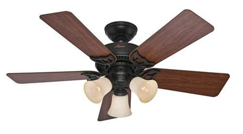 hunter quiet breeze    bronze ceiling fan