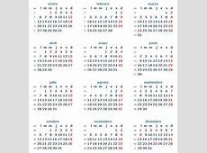 Descargar calendario 2014 Argentina
