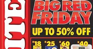 #BigRedFriday: Western Cape Shoprite Big Red Friday Is ...
