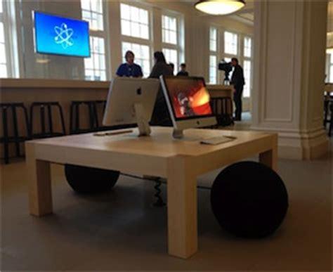 apple experimenteert met nieuwe indeling genius bar