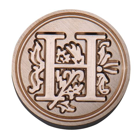 wax letter seal vintage sealing wax classic initial wax seal st