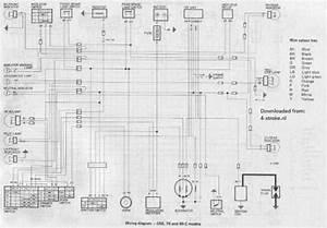 Honda C50 C70 C90c Wiring Schematic