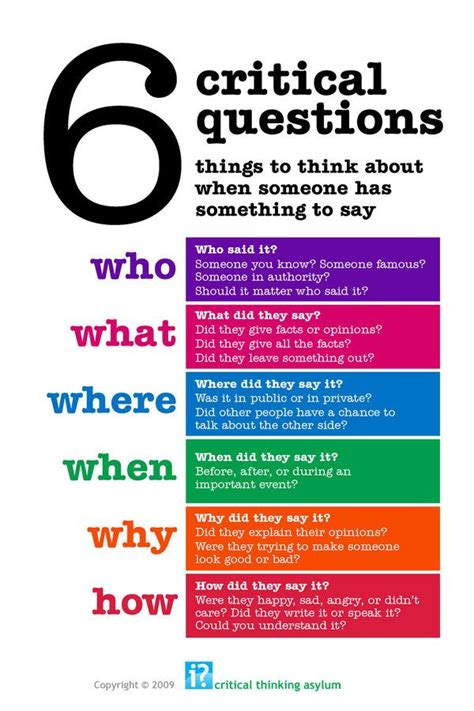 25+ Best Ideas About Critical Thinking On Pinterest  Critical Thinking Skills, Thinking Skills