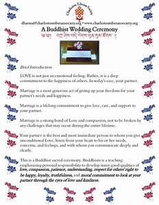 Vows And Prayers For A Buddhist Wedding Ceremony