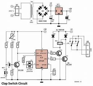 Clap Switch Circuit Circuit Diagram World