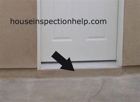 cement  door threshold