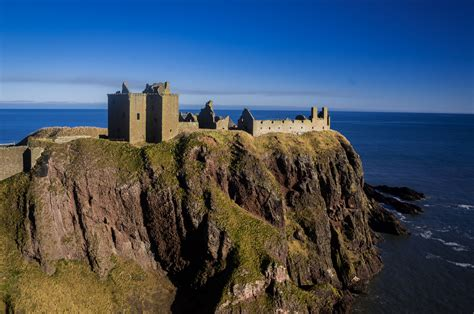 dunnottar castle castle  scotland thousand wonders