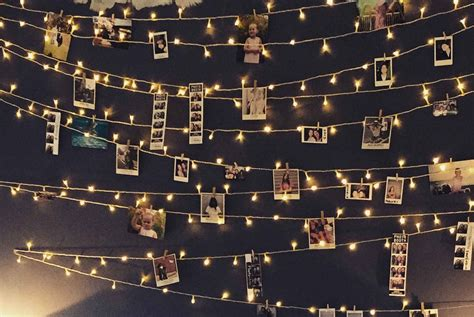 Lichterkette An Wand by Lichterkette An Der Wand Kreative Christbaum Alternativen