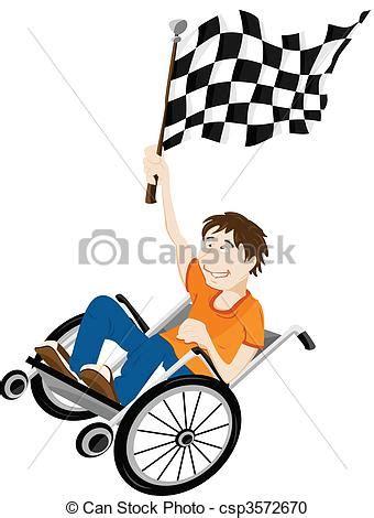 dessin personne en fauteuil roulant