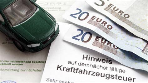 kfz steuer fuer diesel definition und berechnung