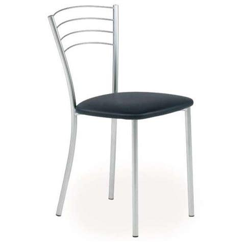 magasin de chaises chaise de cuisine contemporaine en métal roma 4 pieds