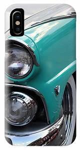 1955 Ford Fairlane Headlight Photograph By Rosanne Jordan
