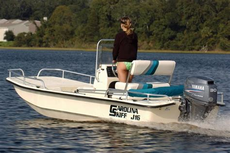 Carolina Skiff Boats by Research 2012 Carolina Skiff J16 Cc Pre Rig On Iboats