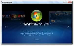 Windows Media Center in Windows 7 Build 7022