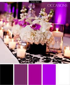 sophisticated black white and purple quinceanera the celebration society