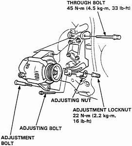 2001 Honda Civic Alternator Belt Replacement