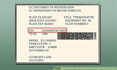 What Is A Vin Number For A Car by 3 Ways To Find Your Vin Vehicle Identification Number