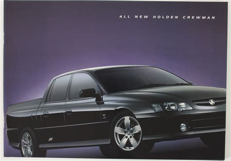 Holden Vy Commodore Crewman Sales Brochure