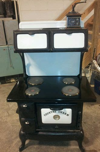 country kitchen stoves country charm cast iron electric stove electric stove 2899