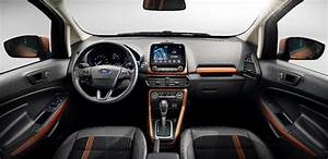 2017 Ford EcoSport (facelift) interior dashboard