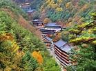 Guinsa Temple deep in the Sobaek Mountains Danyang County ...