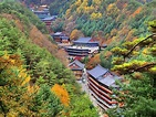 Guinsa Temple deep in the Sobaek Mountains Danyang County ...