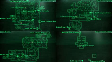 100 fallout 3 the velvet curtain spy bunker the