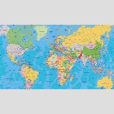 Pin By Rupesh Agar On World Maps In 2019  World Political Map, World Map Wallpaper, Cool World Map