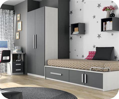 chambre en gris et blanc chambre enfant planet blanc et gris anthracite