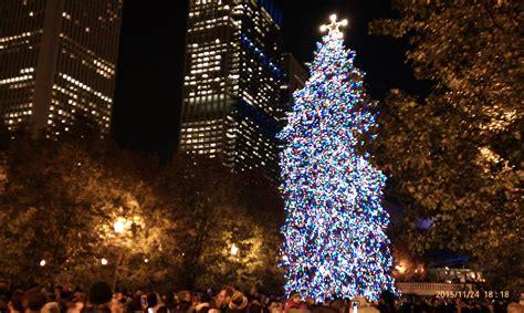 millennium park christmas lights tree lighting ceremony millennium park chicago