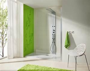 Chaise De Salle De Bain : salle de bain avec douche italienne naturelle et relaxante ~ Teatrodelosmanantiales.com Idées de Décoration