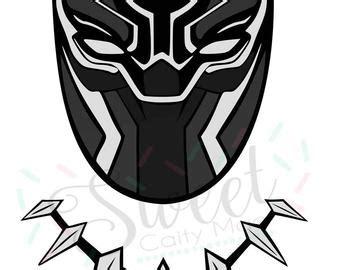 black panther mask template marvel svg etsy studio