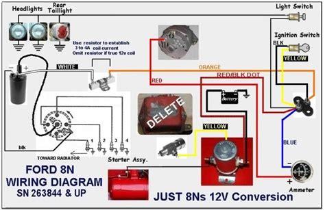 new headlights wiring diagram ford 9n 2n 8n yesterday s tractors