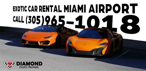 Car Rentals At Of Miami by Car Rental Miami Airport At Luxury Car Rental Usa
