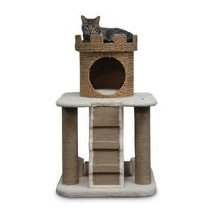 cat castle sand castle cat condo with nest crown