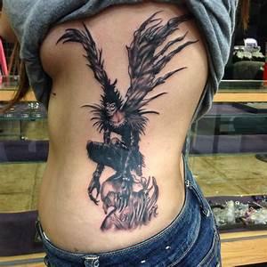 Finally got my ryuk tattoo!!! Death note fandom | Tattoos ...