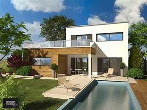 olbia construction villa demeure design etage With idee terrasse exterieure contemporaine 1 maison contemporaine blanche avec un interieur design